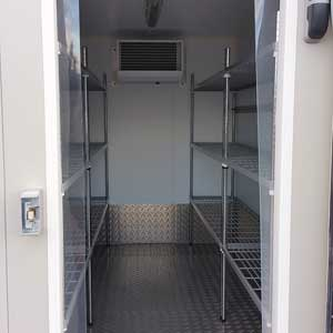 3m fridge with doors open