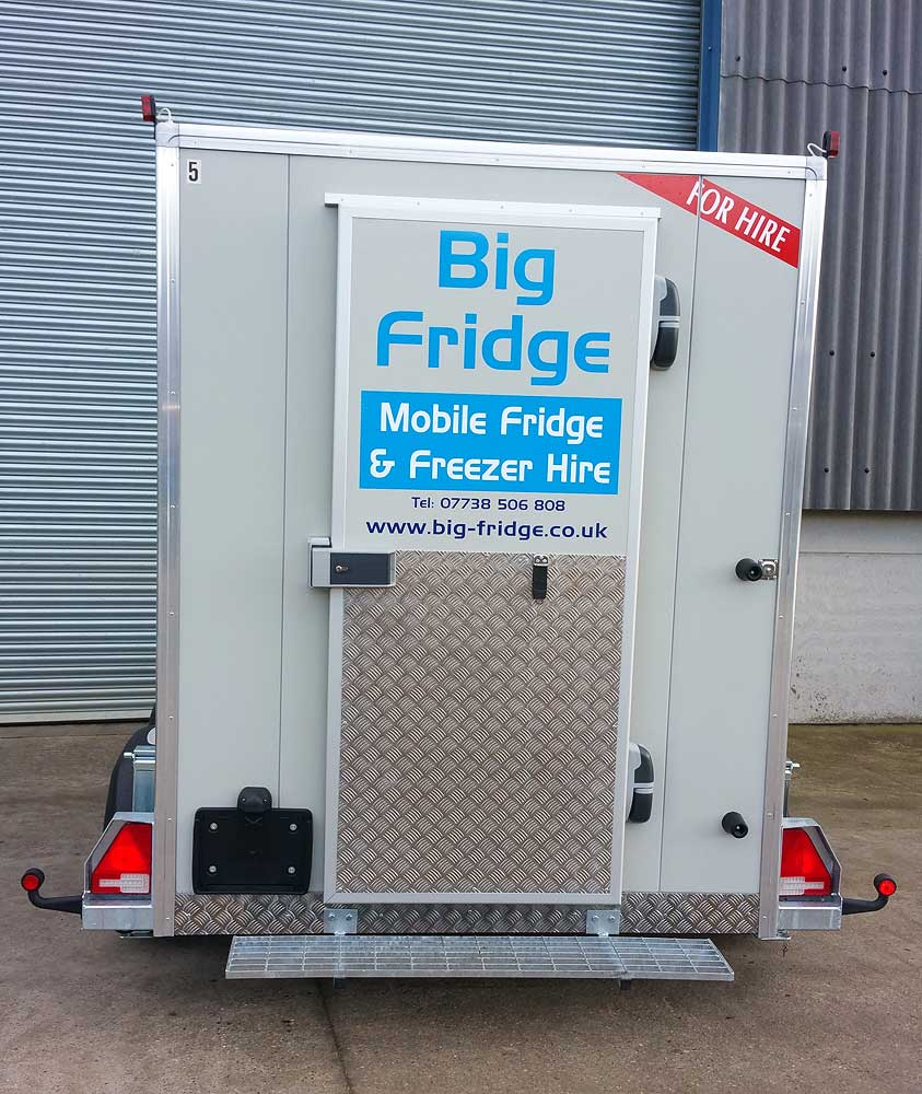 Sizes and Details: Refrigerated Trailer Hire across the North East ...