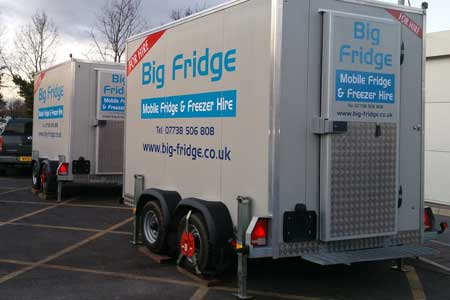 Mobile Freezer Hire